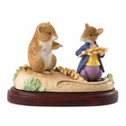 Beatrix Potter / Peter Rabbit Jimmy Willie and Johny Mouse (Club Members Figurine)