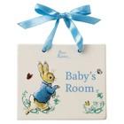 Peter Rabbit (Beatrix Potter) by Border Peter Rabbit Door Plaque