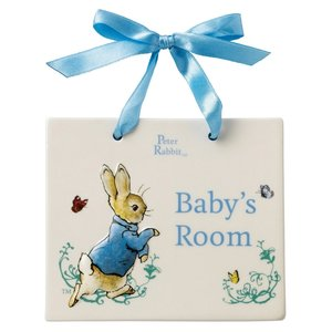 Beatrix Potter / Peter Rabbit Peter Rabbit Door Plaque