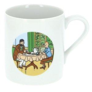 Tintin (Kuifje) Tintin & Haddock breakfast Mug