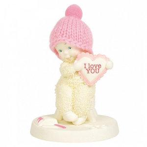 Snowbabies Sending Love