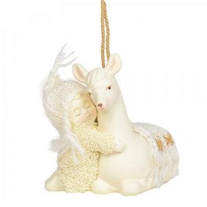Snowbabies Peaceful Kingdon Llama (Hanging Ornament)