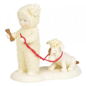 Snowbabies Give A Dog A Bone