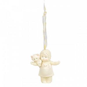 Snowbabies Cat Lady (Hanging Ornament)
