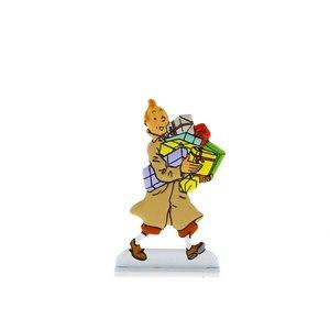 Tintin (Kuifje) Kuifje draagt geschenken
