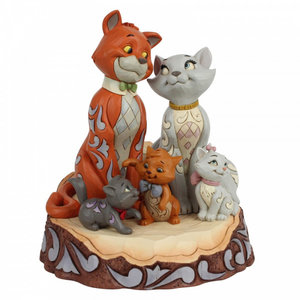 Disney Traditions Aristocats Carved by Heart