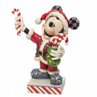 Disney Traditions Mickey Mouse with Candy Canes