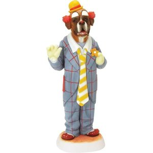 Robert Harrop Brindle Boxer Auguste Clown (Blue)
