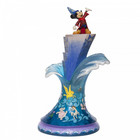 "Disney Traditions Sorcer Mickey Masterpiece ""Summit of Imagination"""