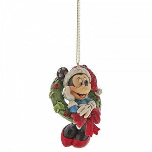 Disney Traditions Minnie Mouse Hanging Ornament (HO)