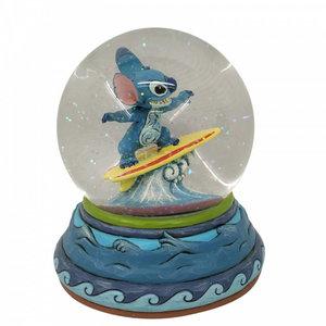 Disney Traditions Stitch  (Snowglobe)