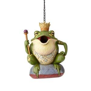 Jim Shore's Heartwood Creek Frog Prince Birdhouse
