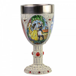 Disney Showcase Beauty and the Beast Decorative Goblet