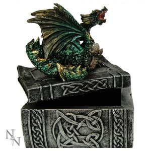 Studio Collection Knowledge Keeper Dragon Box (D. Green)