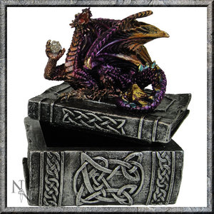 Studio Collection Knowledge Keeper Dragon Box (Purple)