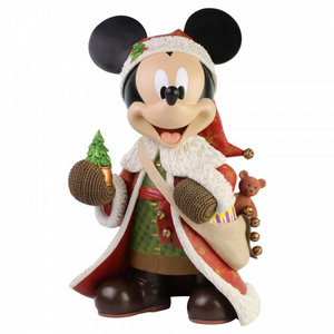 Disney Showcase Mickey Mouse Christmas Statement Figurine