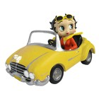Fleischer Studios Betty Boop In Yellow Sports Car