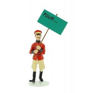 Tintin (Kuifje) Muskar XII