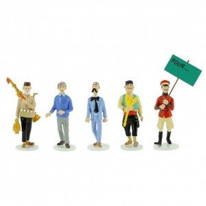 Tintin (Kuifje) SET Collection Carte de voeux 1972 (Serie 10 - 2020)