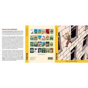 Tintin (Kuifje) Ansichtkaarten – Covers van de Albums de avonturen van Kuifje (Set van 24)