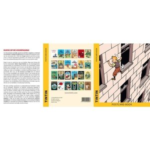 Tintin (Kuifje) Postcards - The Adventures Of Tintin Book Covers  (Set of 24)