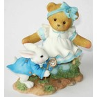 Cherished Teddies Alice with Rabbit