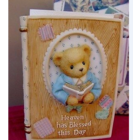 Cherished Teddies Boy Inspirational Bible Holder