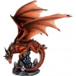 Studio Collection Red Dragon Flying