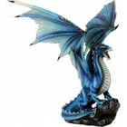 Studio Collection Blue Dragon on rock
