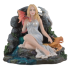 Studio Collection Maiden with  Dragons (Sitting at a Stream)