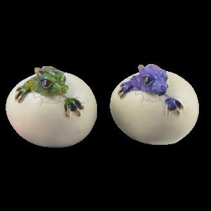 Studio Collection Dragonbabys in egg (SET of 2)