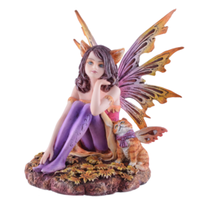 """Studio Collection Fairy """"Tabby"""" with Cat"""