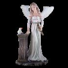 Studio Collection Peace angel 'Velda' (dove on a pillar)