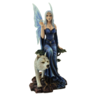"Studio Collection Fairy "" Wolf Queen Lupa""  with Wolf"