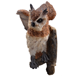 Studio Collection Long Eared Owl (Wall Ornament)