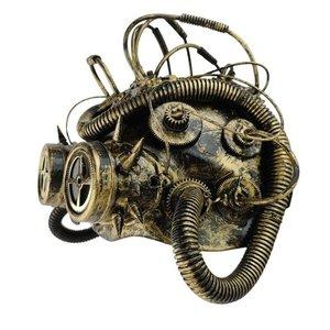 """Studio Collection Steampunk-mask """"Dark Cyber Mind"""""""
