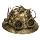 Studio Collection Steampunk Fire Fighter's Helmet