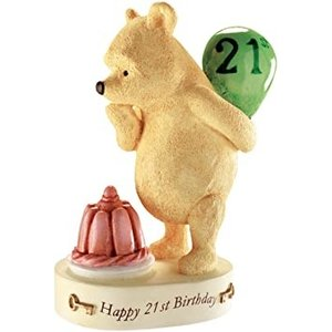 Classic Pooh (BO) Winnie The Pooh - Happy 21st Birthday