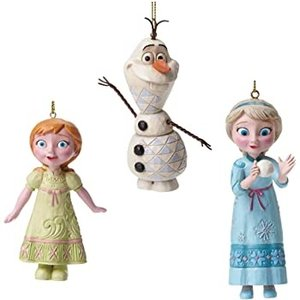 Disney Traditions SET Hanging Ornament Frozen (HO)
