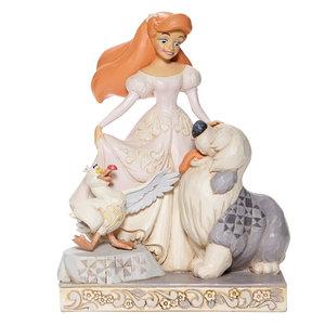 Disney Traditions Ariel (White Woodland)