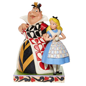 """Disney Traditions Alice & Queen of Hearts   """"Chaos and Curiosity"""""""