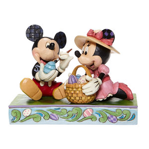"""Disney Traditions  """"Easter Artistry"""" Mickey & Minnie"""