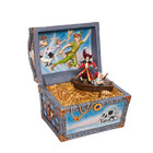 "Disney Traditions Peter Pan Treasure Chest ""Treasure-strewn Tableau"""