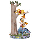 Disney Traditions Hundred Acre Caper (Pooh, Eeyore, Tigger and Piglet by Hunny Tree)
