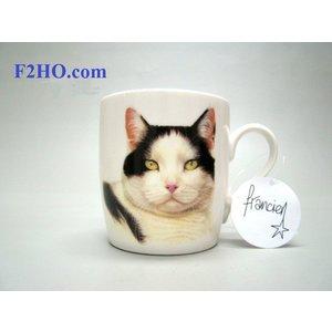 Mug Francien Black & White Cat