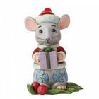 Jim Shore's Heartwood Creek Christmas Mouse (Mini Fig.)