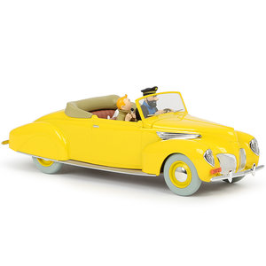 Tintin (Kuifje) The Lincoln Zephyr (1/24)