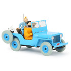 Tintin (Kuifje) The CJ2A Willys Jeep (1/24)