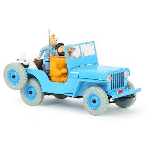 Tintin (Kuifje) The CJ2A Willys Jeep (1/24)