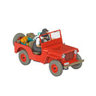 Tintin (Kuifje) The Red Willys Jeep (1/24)